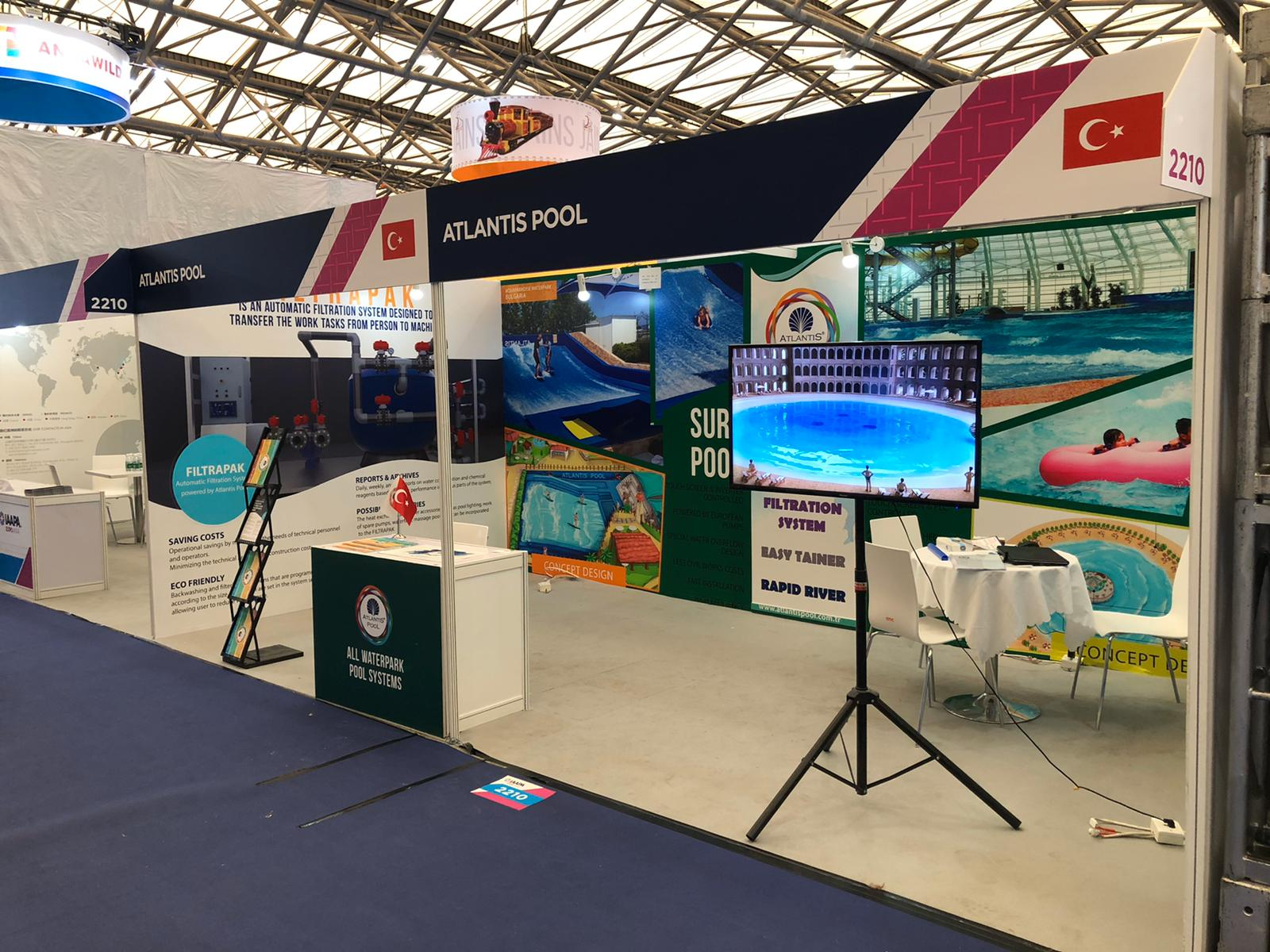 ATLANTIS POOL - IAAPA ASIA EXPO 2019